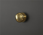 Round, Polished Brass
